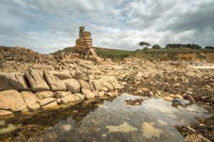 Saint-Samson plougasnou rochers pile d'assiette