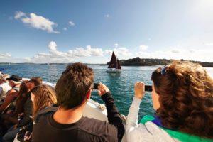 excursion en bateau baie de morlaix