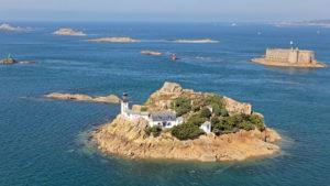Ile Louet en Baie de Morlaix, Bretagne, Finistère