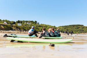 surf cours collectifs Locquirec, Finistère, bretagne