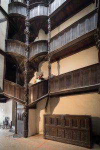 maison à pondalez, maison de la duchesse anne à Morlaix