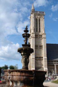 fontaine de l'enclos paroissial de saint-jean-du-doigt