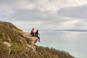 balade a deux à locquirec, Baie de Morlaix