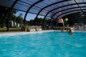 camping domaine de mesqueau piscine