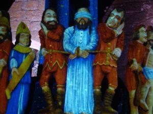 Quand les calvaires s'illuminent Saint-Thégonnec