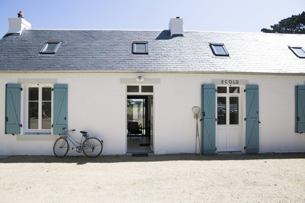 Gîte de l'école de l'île Callot à Carantec