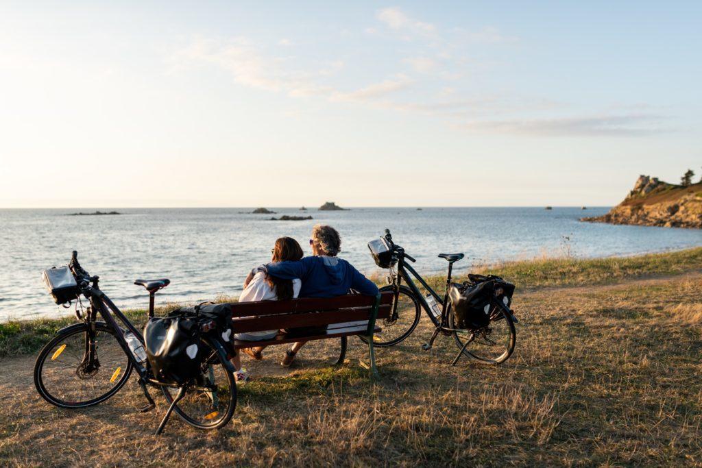 Plougasnou véloroute Vélomaritime randonnée
