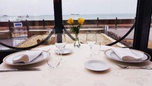 La Cameline restaurant vue mer Plougasnou