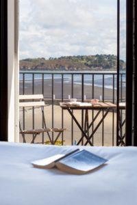 vue mer Hotel du Port Locquirec