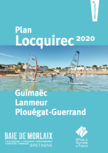 Map of Locquirec cover