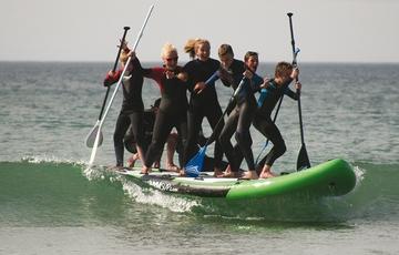 Surfing Locquirec